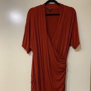 Banana Republic Mid length Wrap Dress